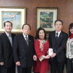 H27.4.15石川県台湾華僑総会さん寄付金贈呈